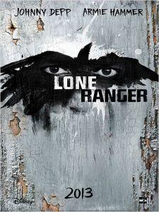 affiche Lone ranger