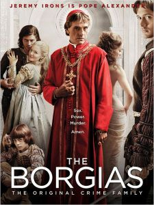 Affiche The Borgias