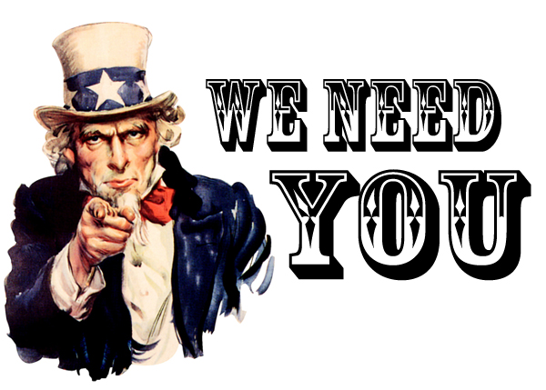 We need you blog