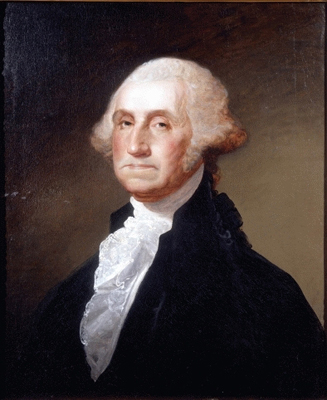 """George Washington"" par Gilbert Stuart Williamstown"