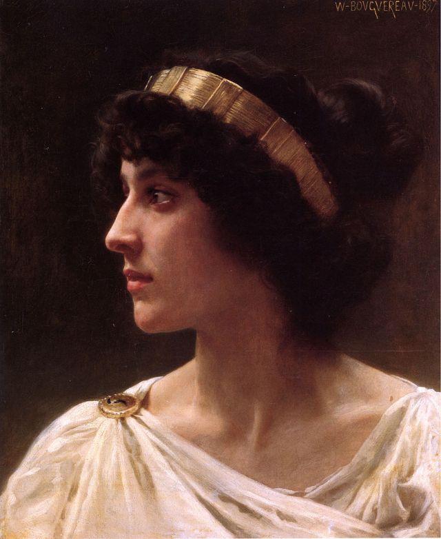 """Irene"" par William - Adolphe Bouguereau"