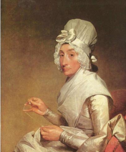 """Mrs. Richard Yates"" par Gilbert Stuart"