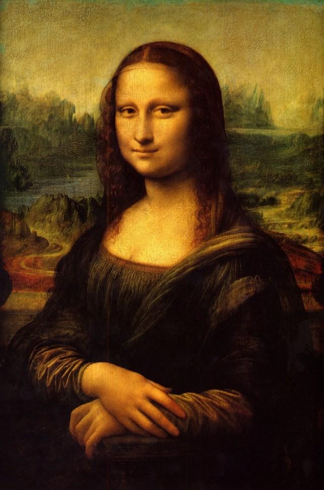 """""""La Joconde"""" par Léonard de Vinci"""