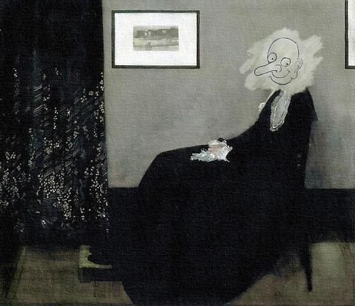 Mr Bean Whistler