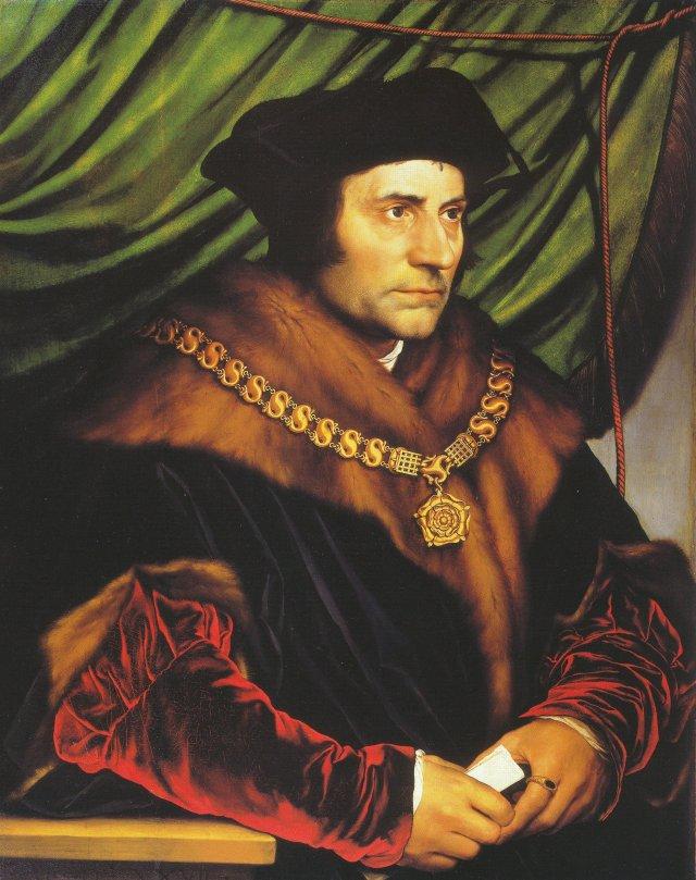 """""""Thomas More"""" par Hans Holbein le Jeune"""